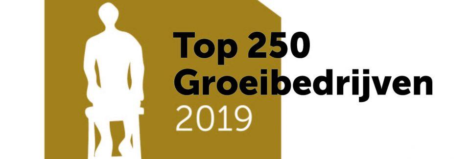 TOP 250 groeibedrijf 2019